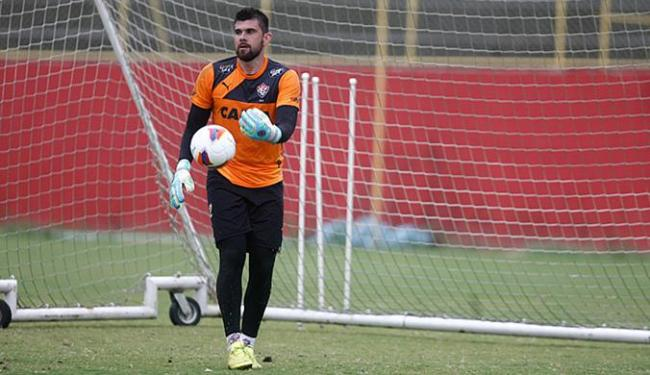 Recuperado de lesão, Fernando Miguel tem 15 dias para readquirir ritmo de jogo - Foto: Joá Souza | Ag. A TARDE