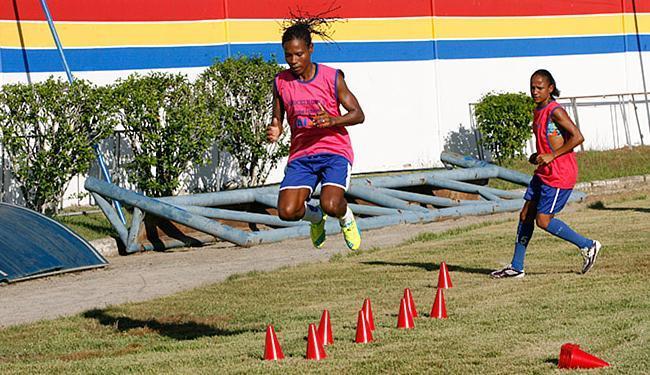 Formiga treina pela primeira vez com a equipe do São Francisco - Foto: Margarida Neide l Ag. A TARDE