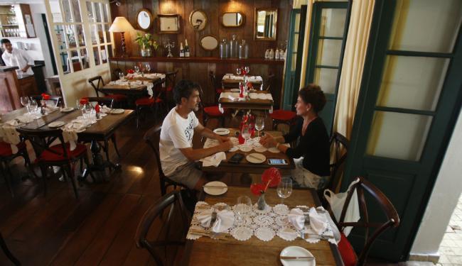 No hotel Villa Bahia, no Pelourinho, o cardápio muda a cada semana - Foto: Lúcio Távora | Ag. A TARDE