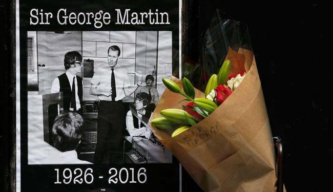 George Martin nasceu em Holloway, pequena cidade a norte da capital Londres - Foto: Phil Noble | Agência Reuters