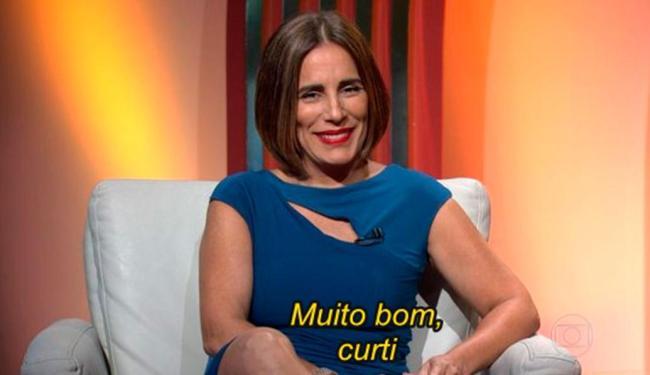 A atriz Glória foi criticada por comentários curtos e sem muito embasamento - Foto: Reprodução   TV Globo