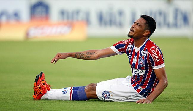 Hernane vinha sentindo cãibras em vários jogos neste ano - Foto: Lúcio Távora l Ag. A TARDE