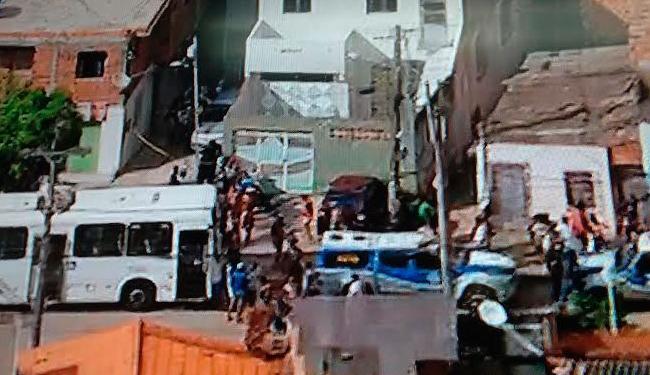 Polícia Militar investiga crime que ocorreu no início da manhã desta terça-feira, 1º - Foto: Reprodução   TV Record