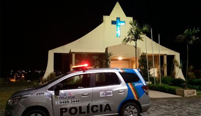 Noiva foi abordada minutos antes de entrar na igreja - Foto: Itthallyne Marques | TV Asa Branca