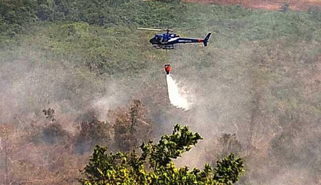 Helicóptero foi foi enviado nesta quinta - Foto: Divulgação | Polícia Militar