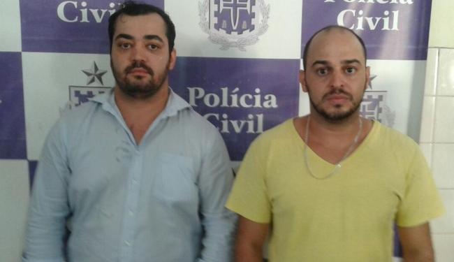 Adriano e Nilton Barcelar moram em Vitória na Conquista, mas atuavam em outros municípios - Foto: Divulgação | Polícia Civil