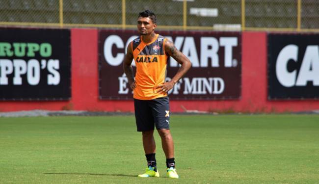 Camisa 9 do Leão é reforço para bater time de Guanambi - Foto: Francisco Galvão l EC Vitória