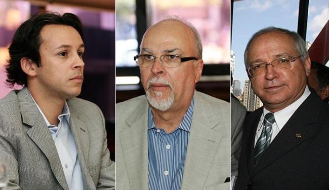 Os Negromonte, pai (C) e filho (E), e Roberto Brito foram denunciados ao STF - Foto: Mila Cordeiro e Rejane Carneiro l Ag. A TARDE