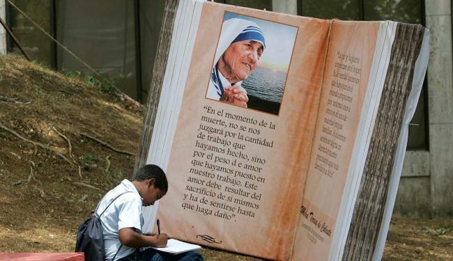Madre Teresa morreu em 5 de setembro de 1997. Na época, com 87 anos - Foto: Orlando Barría | EFE | 23.04.2010