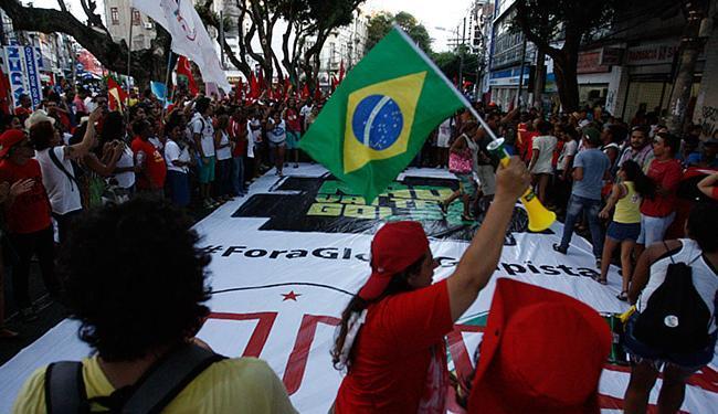 O imbróglio político em que o Brasil está metido não terá um desfecho tranquilo - Foto: Lúcio Távora | Ag. A TARDE