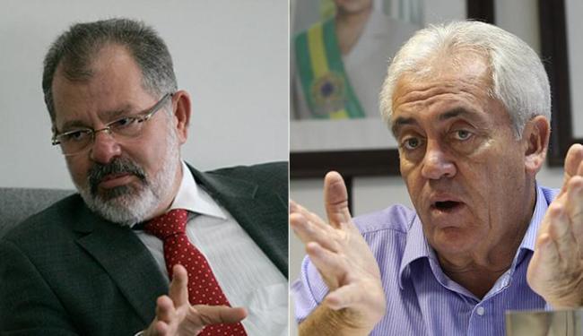 Marcelo Nilo e Otto Alencar defendem que o país volte logo ao desenvolvimento - Foto: Lúcio Távora l Ag. A TARDE l 15.10.2014
