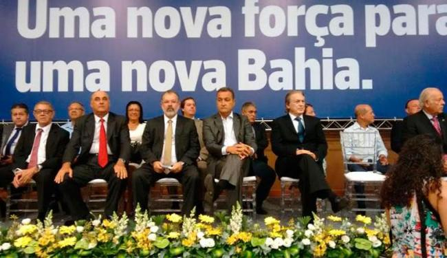 Nilo e outros cinco deputados se filiaram ao PSL na manhã desta quinta, 3 - Foto: Luan Santos   Ag. A TARDE