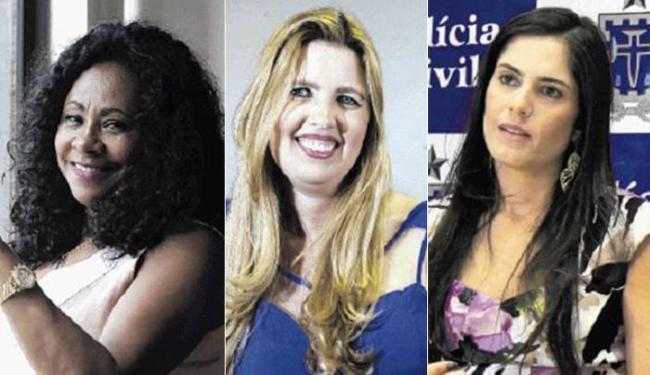 Maria Tereza (E), Taís (C) e Danielle dominam a área em Camaçari - Foto: Joá Souza e Adilton Venegeroles | Ag. A TARDE