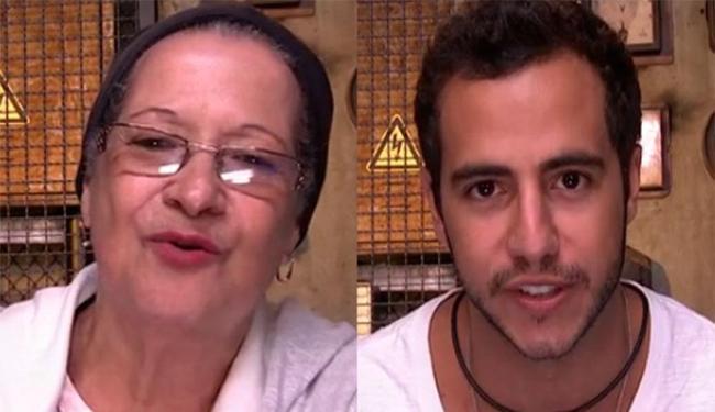 Matheus e Geralda, que entraram juntos na casa, terão a vida no jogo decidida nesta terça-feira, 22 - Foto: Reprodução | TV Globo