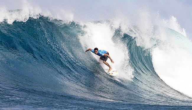 Mineirinho é o atual melhor do mundo e um dos destaques da Brazilian Storm - Foto: Kell Cestari l WSL l Handout l Reuters