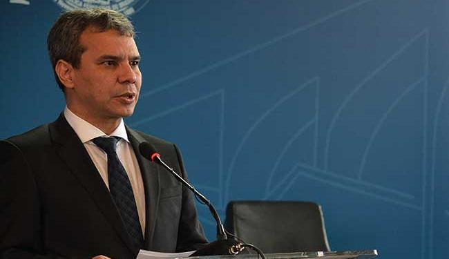 Wellington foi empossado no dia 4 de março - Foto: Valter Campanato | Agência Brasil