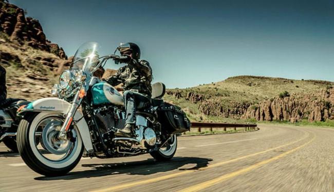 Heritage vem com novo motor e itens para valorizar visual - Foto: Divulgação