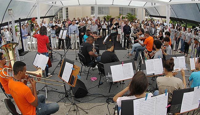 Apresentação da orquestra Neojiba - Foto: Manu Dias l Govba
