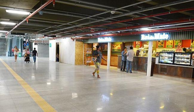 Novas lojas: 64 estabelecimentos, entre lojas e lanchonetes, serão abertos na terça - Foto: Jefferson Peixoto l Agecom