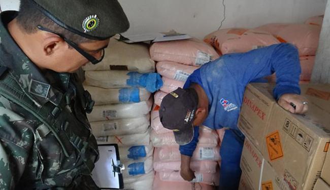 Operação Rastilho II tem o objetivo de combater desvio de explosivos - Foto: Divulgação l Exército Brasileiro