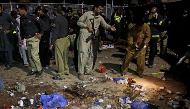 O ataque suicida tinha como alvo a comunidade cristã da região - Foto: Mohsin Raza | Reuters