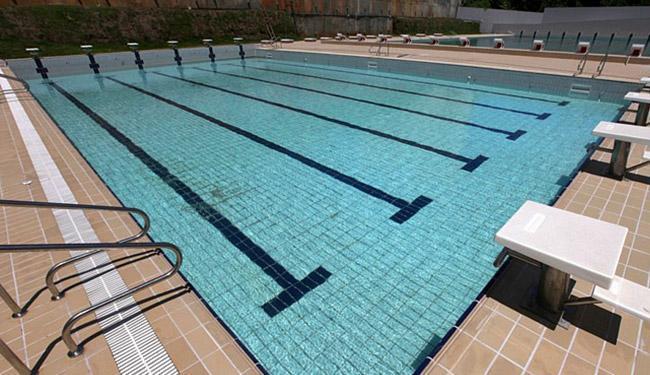 Piscina pode receber 3 esportes: natação, nado sincronizado e polo aquático - Foto: Elói Corrêa l Setre