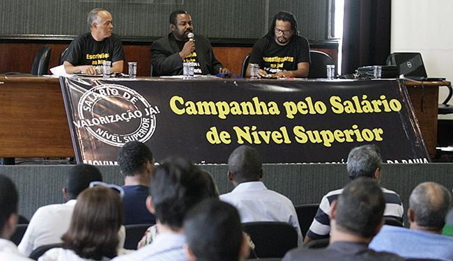 Plenária em fevereiro apontou diretrizes da campanha - Foto: Luciano da Matta l Ag. A TARDE l 26.02.2016