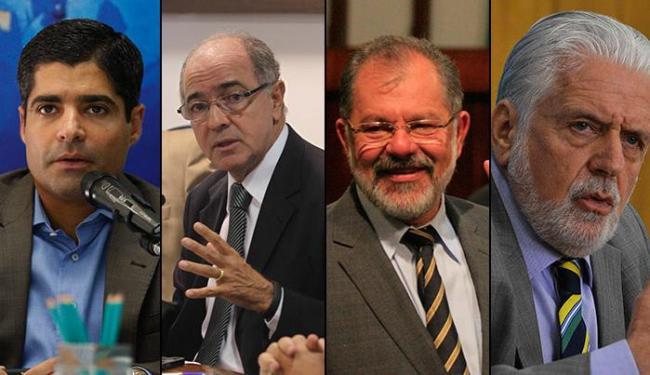 Importantes nomes do governo e oposição estão na lista - Foto: Montagem   Ag. A TARDE