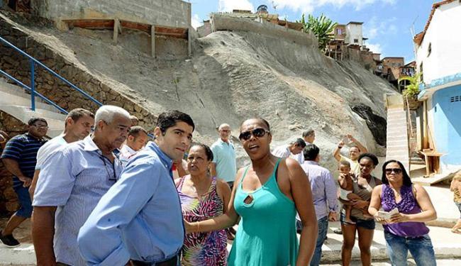Prefeito ACM Neto participou da entrega das obras - Foto: Valter Pontes l Divulgação