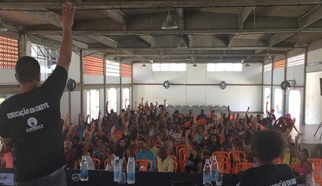 Greve iniciada em 12 de fevereiro foi submetida a assembleia nesta quarta-feira, 2 - Foto: Divulgação l Asprof
