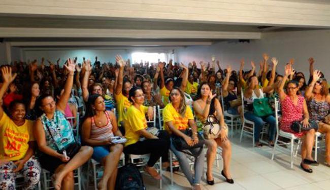 A decisão foi tomada durante assembleia realizada nesta terça-feira, 1º - Foto: Divulgação | APLB