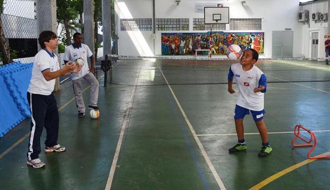 A matrículas e as aulas são realizadas no Instituto Baiano de Reabilitação (IBR), em Ondina - Foto: João Ubaldo | Ascom Sudesb