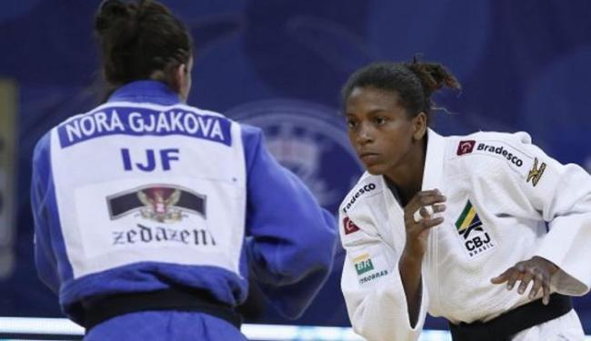 O ouro na Geórgia valeu 300 pontos para Rafaela no ranking mundial, que foi atualizado nesta segunda - Foto: Divulgação | CBJ