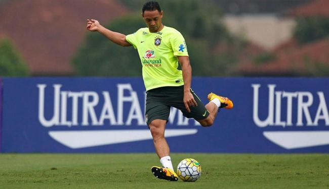 Ricardo Oliveira deve ser o substituto de Neymar no ataque da seleção - Foto: Rafael Ribeiro | CBF
