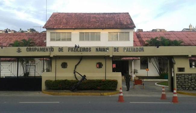 Sede dos Fuzileiros Navais, no bairro do Comércio - Foto: Divulgação