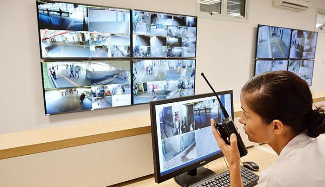 Segurança por vídeo: foram instaladas cerca de 100 câmeras de vídeo para monitoramento - Foto: Jefferson Peixoto l Agecom