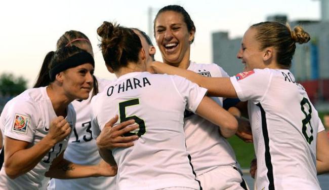 Cinco jogadoras da equipe anunciaram que estão movendo uma ação pelo direito de igualdade salarial - Foto: Marc DesRosiers   Ag. Reuters