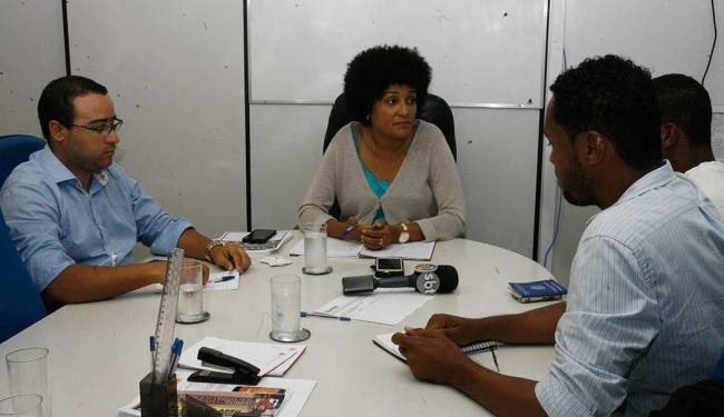 Moisés foi à Secretaria de Justiça, Direitos Humanos e Desenvolvimento Social - Foto: Edilson Lima | Ag. A TARDE