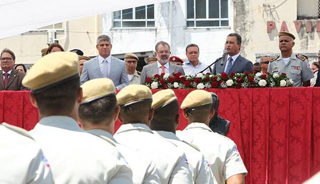 Em Salvador, solenidade de formatura de PMs contou com o governador Rui Costa - Foto: Carol Garcia l Gov-BA l Divulgação
