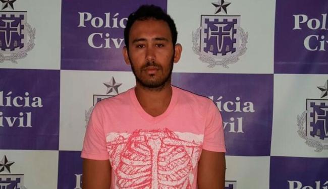 Tiago foi preso em Brumado e depois enviado ao Rio - Foto: Divulgação | Polícia Civil