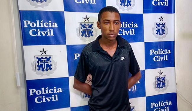 Tiago Cruz dos Santos foi preso em Itapuã - Foto: Edilson Lima | Ag. A TARDE