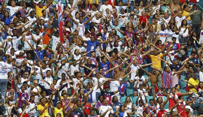 90% da carga para venda são para os torcedores do Bahia - Foto: Eduardo Martins | Ag. A Tarde
