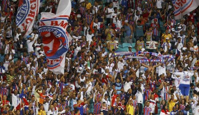 A partida contra o Azulino será realizada às 19h30 - Foto: Eduardo Martins | Ag. A TARDE