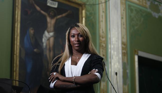 Antes de se tornar assessora parlamentar, Tuka Perez tinha um salão de beleza - Foto: Lúcio Távora | Ag. A TARDE
