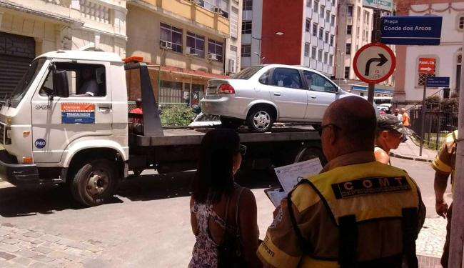 35 veículos foram removidos para o pátio do órgão - Foto: Divulgação   Transalvador