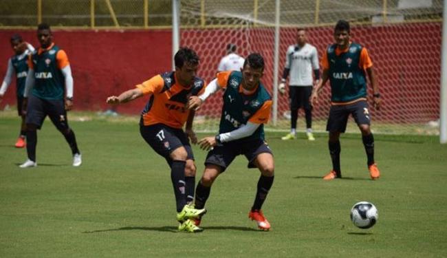 Jogadores se preparam para pegar o Feirense neste sábado, 5 - Foto: Divulgação | E.C.Vitória
