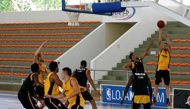 Jogadores do Vitória treinaram em Cajazeiras para o importante duelo desta sexta-feira, 11 - Foto: Luciano da Matta l Ag. A TARDE