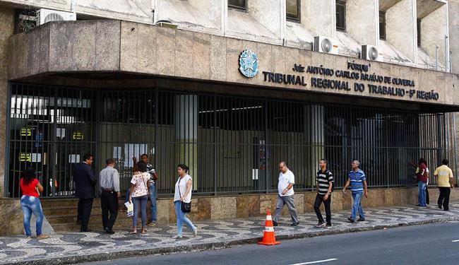 Unidades do TRT vão funcionar em turnão entre 4 de abril e 19 de dezembro - Foto: Eduardo Martins | Ag. A TARDE