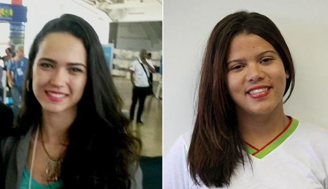 Vanessa, 22, e Nágila, 26, promovem mobilização popular em cidades da Chapada e Recôncavo - Foto: Acervo pessoal e Marivaldo Oliveira l Divulgação