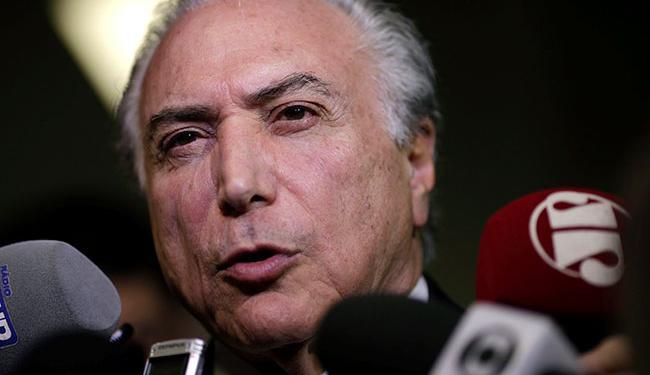 Vice-presidente Michel Temer sai fortalecido no PMDB com a saída do governo - Foto: Ueslei Marcelino | REUTERS